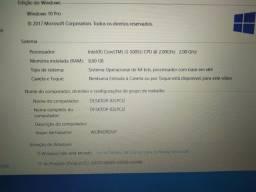 Notebook Samsung 8 GB de ROM Processador Core i3 5 geração