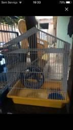 Título do anúncio: Vendo essa gaiola pra hamsters ou troco numa casa pra cachorro