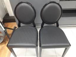 Cadeiras Pretas (Leia o anúncio)