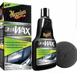 Cera Meguiars 3in1 líquida 473ml
