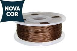 Filamento Cliever - PLA 1.75MM 1KG - Bronze - Impressora 3D