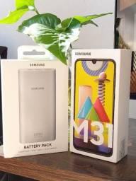 Galaxy M31 128/6 GB(Novo lacrado com bateria externa)NF e garantia 1 ano