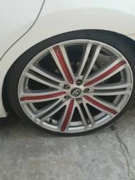 Roda aro 20 importada com pneus ling long