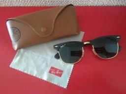 Óculos de sol Ray Ban Clubmaster Aluminium Rb3507 Polarizado