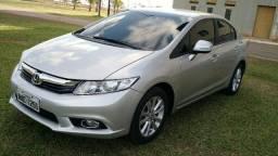 Civic Lxl 1.8 Flex Aut Prata - 2012