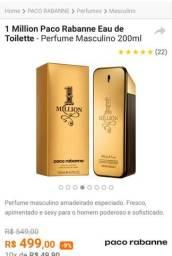"Perfume paco rabanne ""million""original"