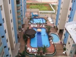 Apartamento 2 quartos para temporada em caldas novas, millenium residencial, 2 dormitórios