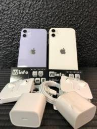 Info Barra, Loja Fisica Iphone 11 64gb, garantia Apple 01 ano