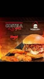 Hambúrguer grelhados