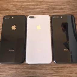 IPhone 8 plus 64gb preto e branco