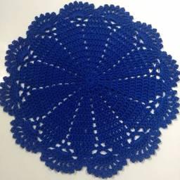 Toalhinhas em crochê feito com fio Charme da círculo
