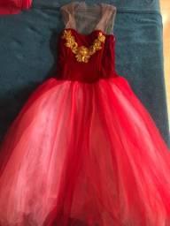 Vestido Princesa - Fantasia