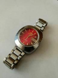 Raro relógio Orient, anos 70.