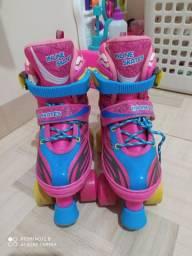 Vendo um patins semi novo número 26_27
