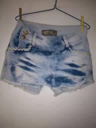 Shorts saia em Lycra n40 $10