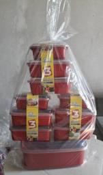 Kit potes 10 peças entrega grátis