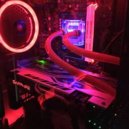Gpu Amd RX580 4Gb - Fazer Rolo!