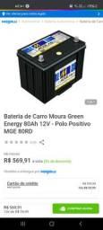 Vendo bateria 80amp Moura