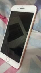 IPhone 8 Plus dourado 256gb com película e capinha