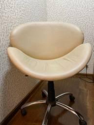 Cadeira de escritório/ poltrona office - modelo tulipa