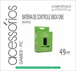 Bateria Controle Xbox One e Carregador Knup Kp- 5128 Original Novo
