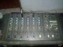 Mesa de som profissional Whatsom 6 canais