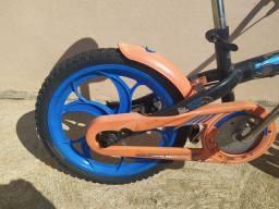 Bike infantil aro 12 hot Wheels