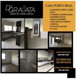 Casa Bairro Porto Real - Varginha MG