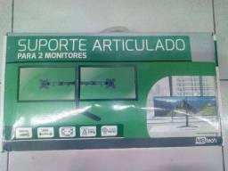 Suporte duplo para dois monitores