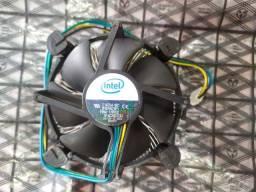 Cooler e Dissipador Intel para Socket 775/1156/1155