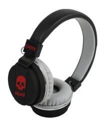 Fone Ouvido Com Fio Headset Barato Oex Hp-101 Preto/vermelho