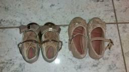 Vendo sandálias usadas 2 vezes apenas!