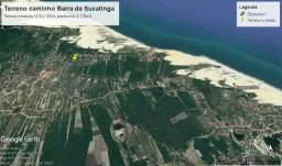 Terreno Barra da Sucatinga (próximo à praia)- Beberibe (CE)