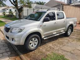Toyota Hilux 2.7 Flex - Prata 2012