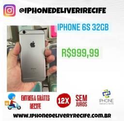 Título do anúncio: IPhone 6S 32gb (12 x Sem Juros ) Entrega Grátis Recife