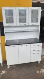 Armário Kit de Cozinha de Aço 3 Meses de Uso - Entrega Grátis