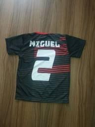 Camiseta do seu time com teu nome