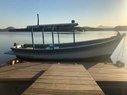 Título do anúncio: Barco Madeira