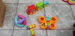 KIT COM 4 BRINQUEDOS INFANTIL