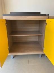Título do anúncio: Balcão Cooktop 2 Portas com acabamento em Pintura UV acetinada!!