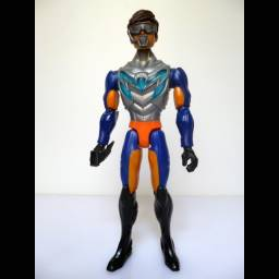 Boneco Max Steel Velocidade Aquaveloz Mattel