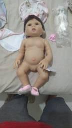 Vendo boneca reborn bebê nova