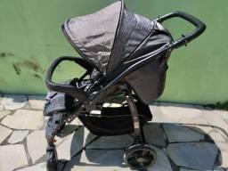 Carrinho Burigotto + bebe conforto + Ninho + Suporte de Carro