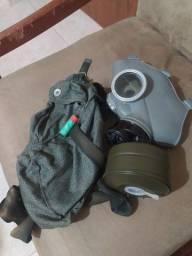 Máscara de gás original da 2 Guerra Mundial