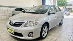 Título do anúncio: Toyota Corolla 2013 1.8 GLI+couro+multmidia