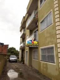 Apartamento com 2 dormitórios para alugar, 62 m² por R$ 850,00/mês - Cidade Beira Mar - Ri