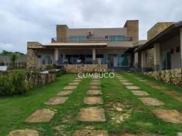 Sobrado com 6 dormitórios à venda, 279 m² por R$ 1.200.000,00 - Cumbuco - Caucaia/CE