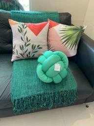 Decoração e proteção para o seu sofá