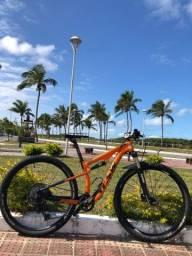 Título do anúncio: Bike 29 tsw Carbon kit Deore xt