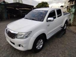 HILUX SRV 2013 4X4 AUTOMÁTICA COM GNV